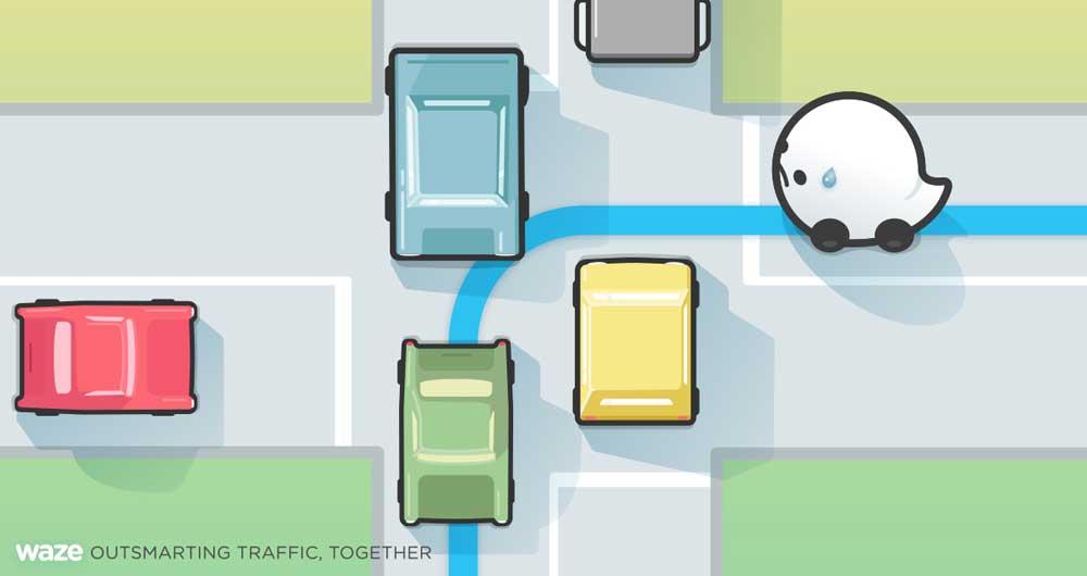خداحافظی با گردشبهچپ در رانندگی با اپلیکیشن Waze