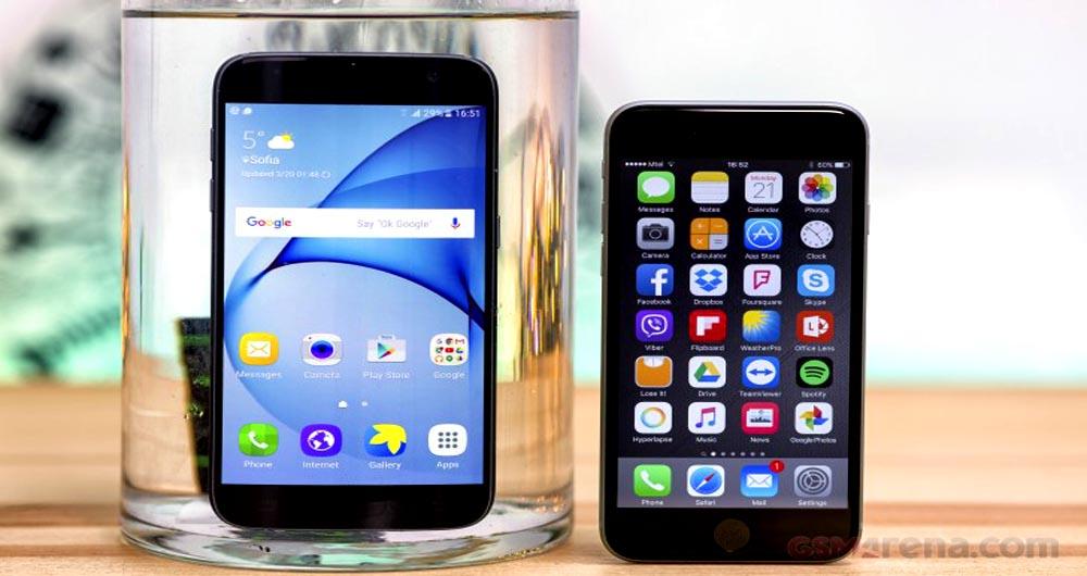 ۹ تفاوت جالب گوشی galaxy s7 با گوشی های iphone