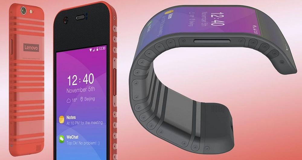 لنوو گوشی و تبلت انعطافپذیر خود را به نمایش گذاشت