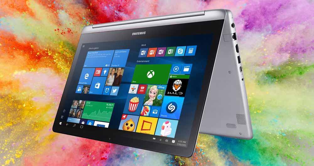 لپ تاپ Notebook 7 Spin سامسونگ، دو روح در یک بدن