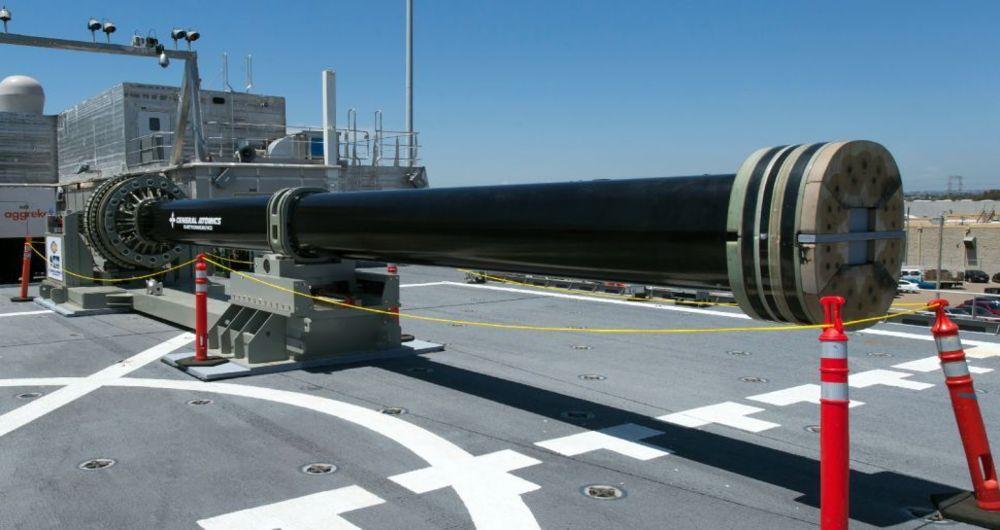 دستیابی ارتش آمریکا به فناوری سلاح الکترومغناطیسی