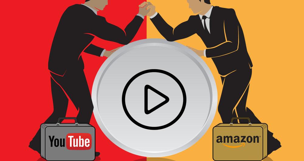 youtube vs amazon