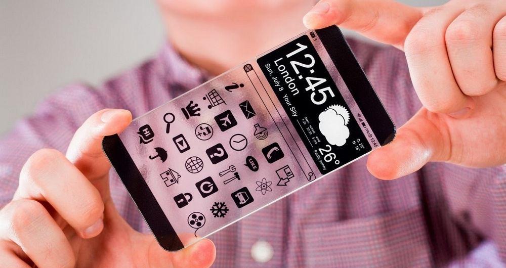 خودنمایی یک گوشی شفاف در تیزر تبلیغاتی کمپانی ویوو (Vivo)