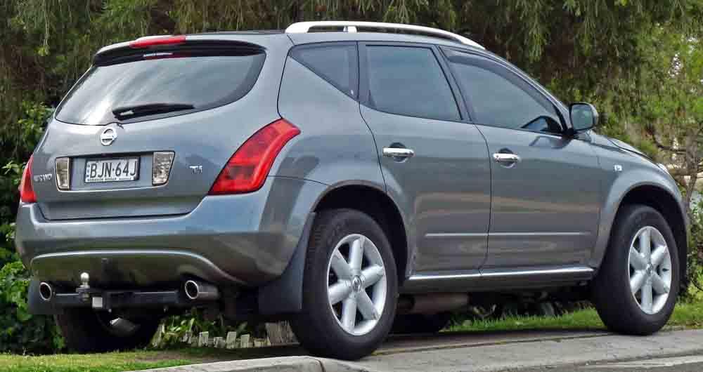 ۲۰۰۵-۲۰۰۸_Nissan_Murano_(Z50)_Ti_wagon_01