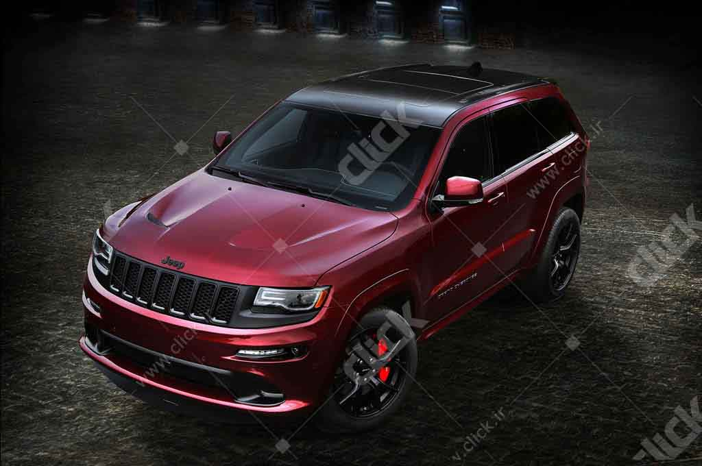 ۲۰۱۶-Jeep-Grand-Cherokee-SRT-Night-from-above
