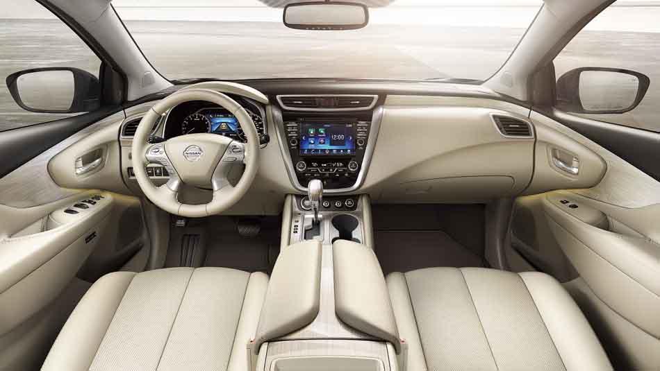 ۲۰۱۶-nissan-murano-interior-console-cashmere-leather