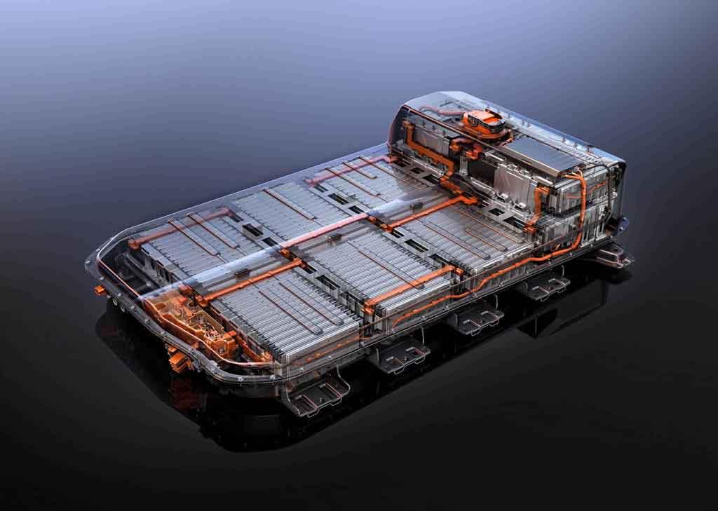 ۲۰۱۷ Chevrolet Bolt EV battery system
