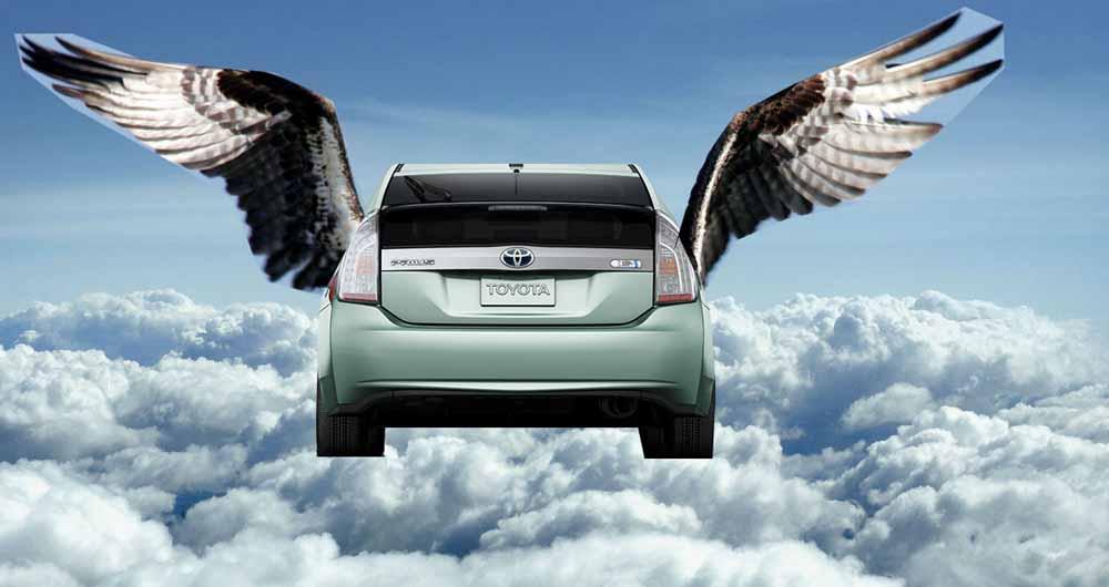 تویوتا ماشین پرنده میسازد