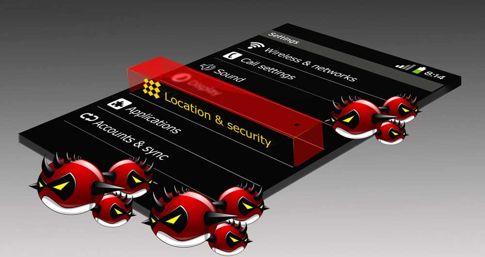 خطر ویروسی شدن گوشی بر اثر کلیک بر روی تبلیغات اینترنتی