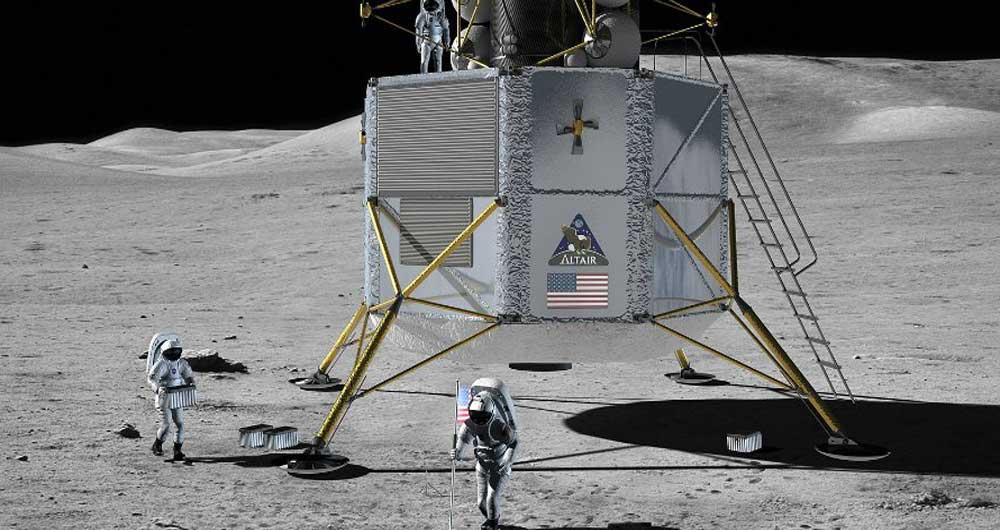 همکاری روسیه و آمریکا برای بازگشت به ماه