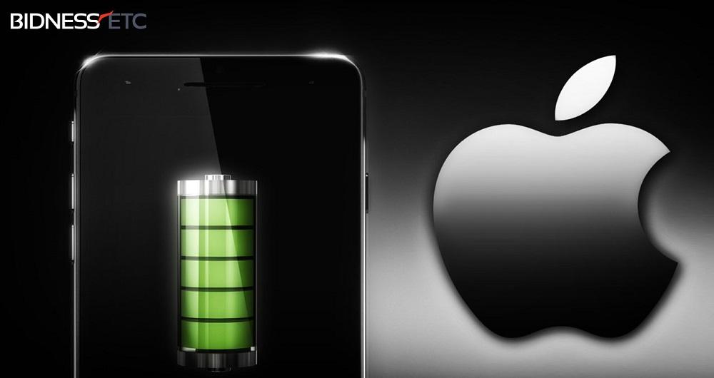 احتمال استفاده آیفون ۷  از یک باتری ۱۹۶۰ میلی آمپر