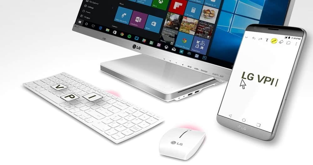 کنترل گوشی LG از کامپیوتر