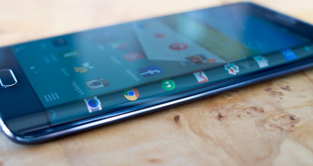مشکل بزرگ گوشی های لبه خمیده سامسونگ در هنگام تماشای ویدئو