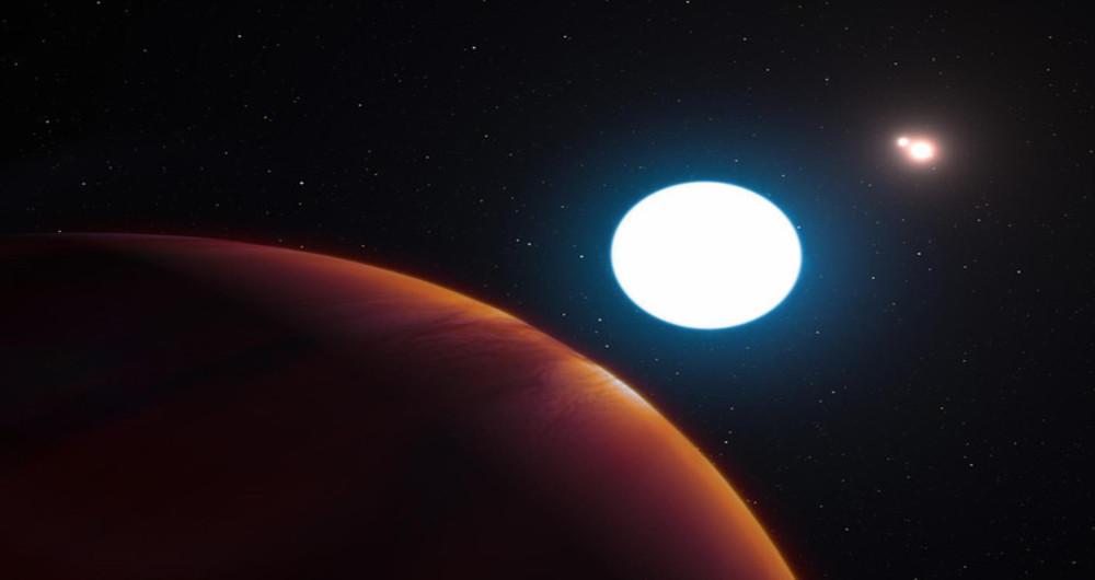 سیاره ای عجیب با سه خورشید