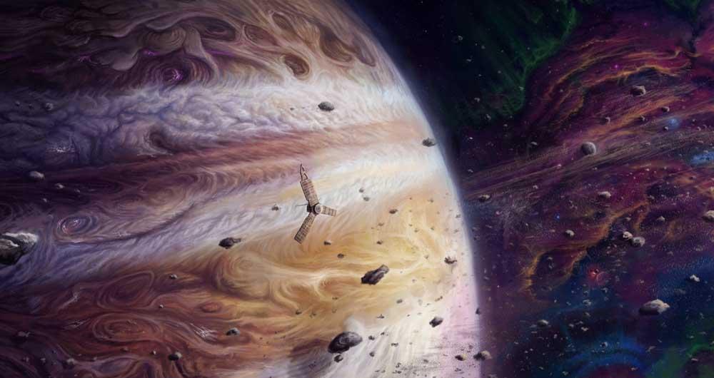 بشنوید: ورود ماهواره Juno به جو مشتری و ارسال صداهای اسرار آمیز