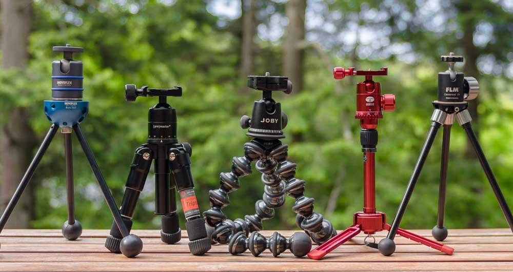همه چیز در مورد انتخاب و خرید سه پایه مناسب برای دوربین