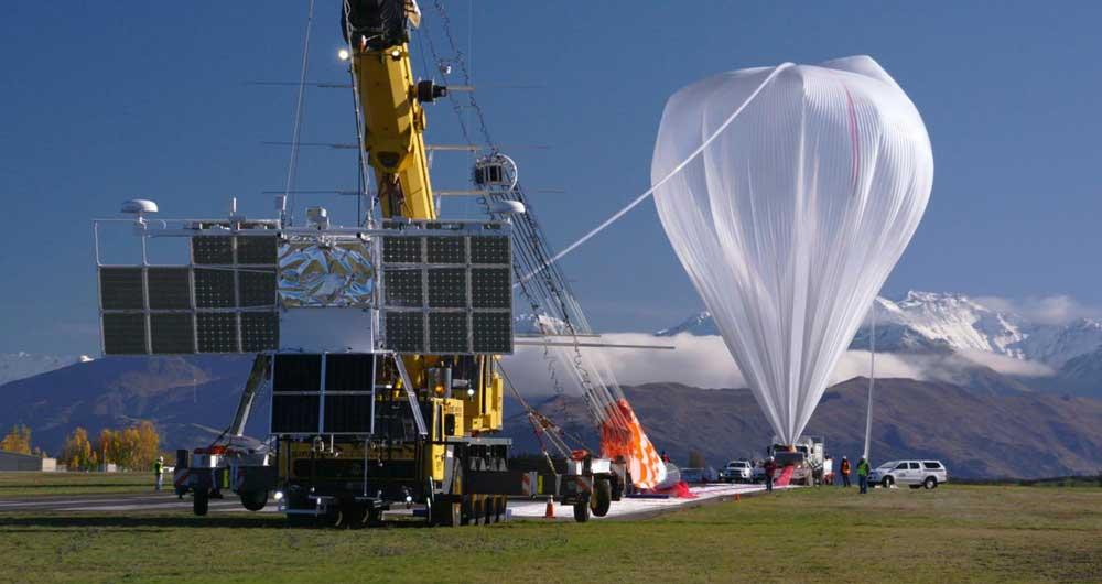 بالون ناسا رکورد زد