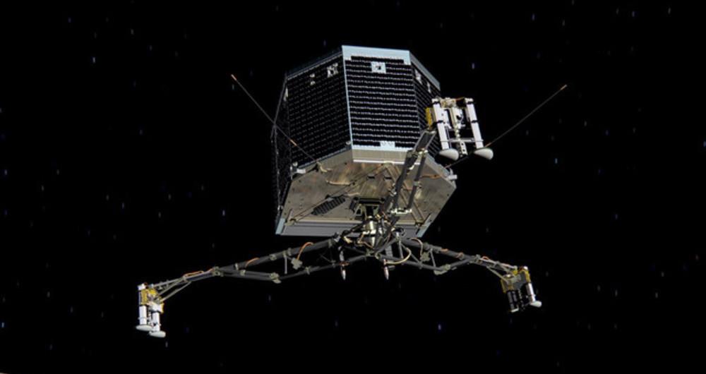 پایان ماموریت Rosetta