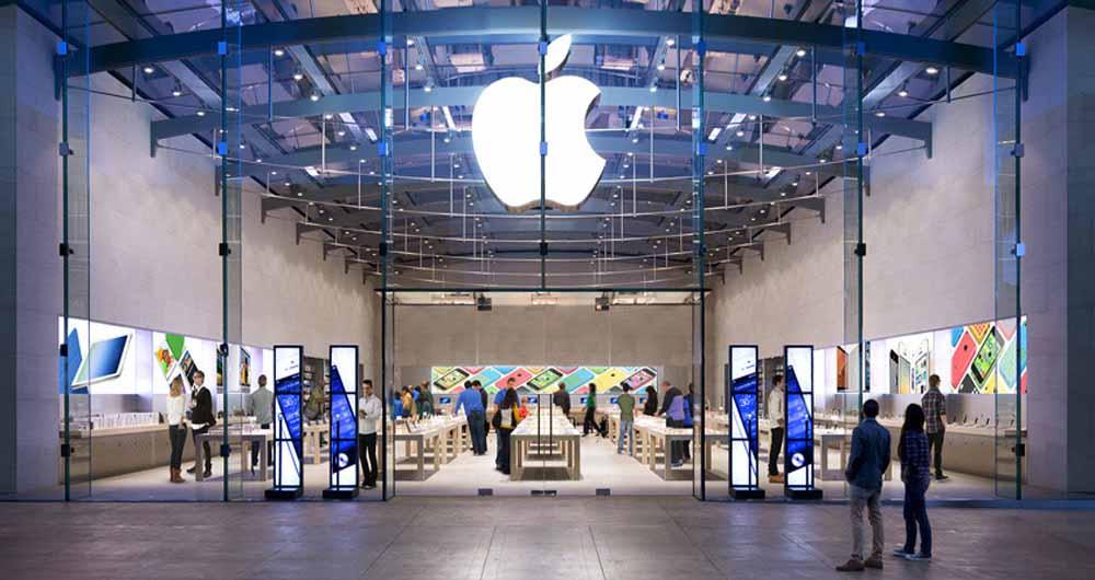 فوری؛ لحظاتی پیش فروشگاه اپل استور مجتمع چارسو پلمپ شد!