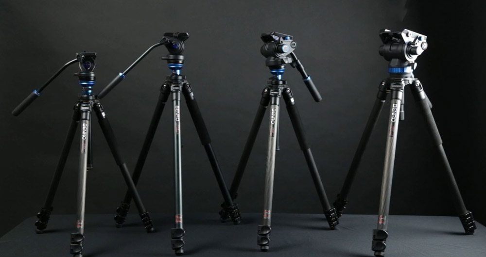 variation-of-benro-tripods