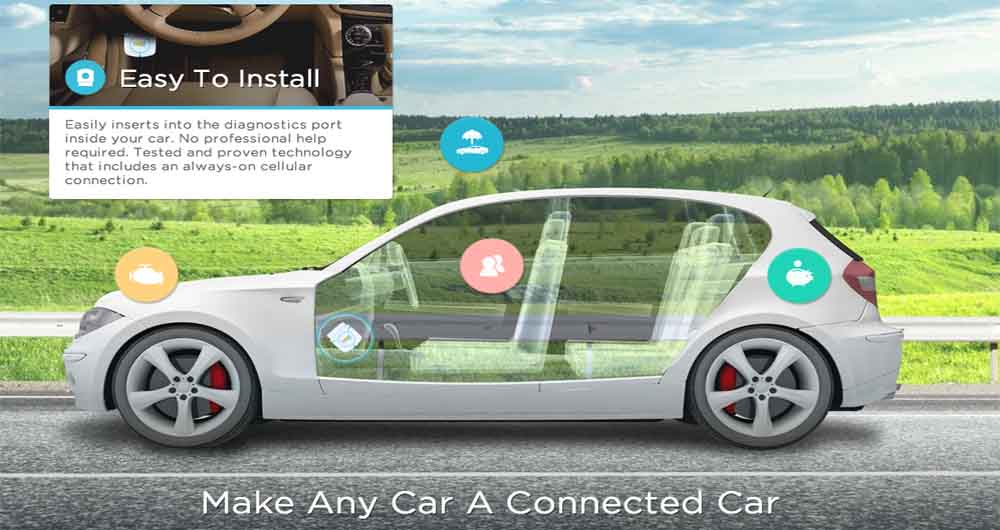 با Zubie اتومبیل خود را در هر مکانی از راه دور رهگیری کنید