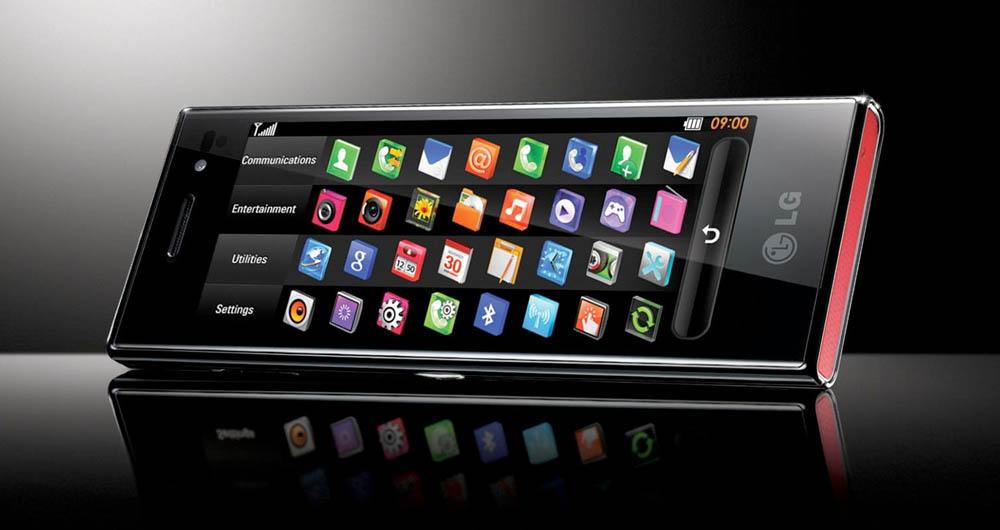 صفحه نمایش مرموز در گوشی های LG