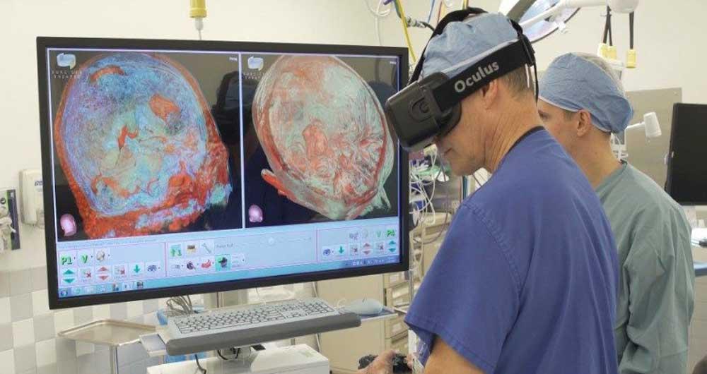فناوری واقعیت افزوده در جراحی مغز
