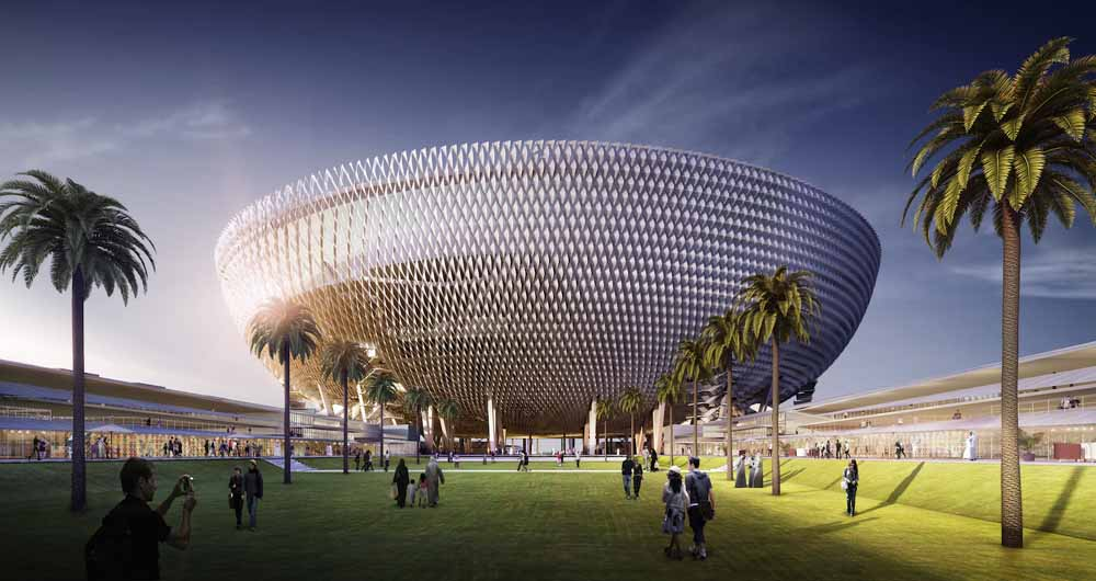 خنک سازی هوشمند استادیوم فوتبال در دل کویر