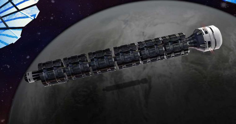 ایده مفهومی قطار فضایی