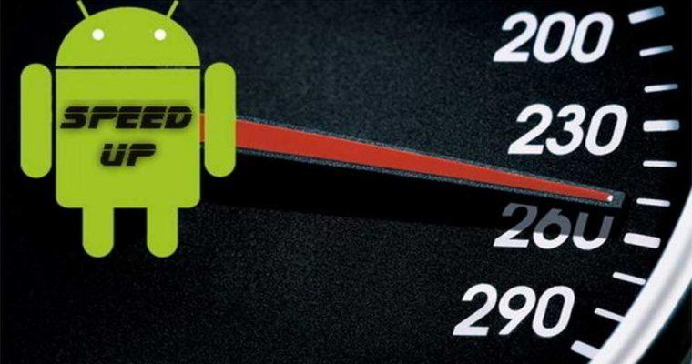 افزایش سرعت گوشی های اندرویدی