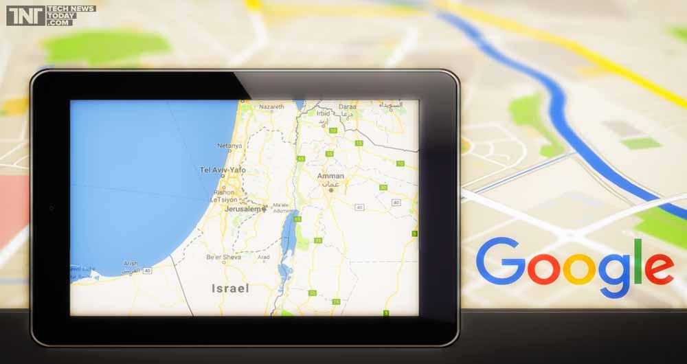 جنجال حذف نام فلسطین از نقشه گوگل به رسانه ها کشیده شد