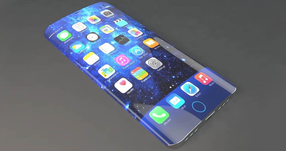 گوشی خمیده اپل در سال ۲۰۱۷ به بازار می آید