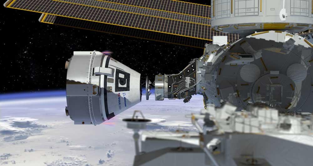 نصب دروازه آینده در ایستگاه فضایی