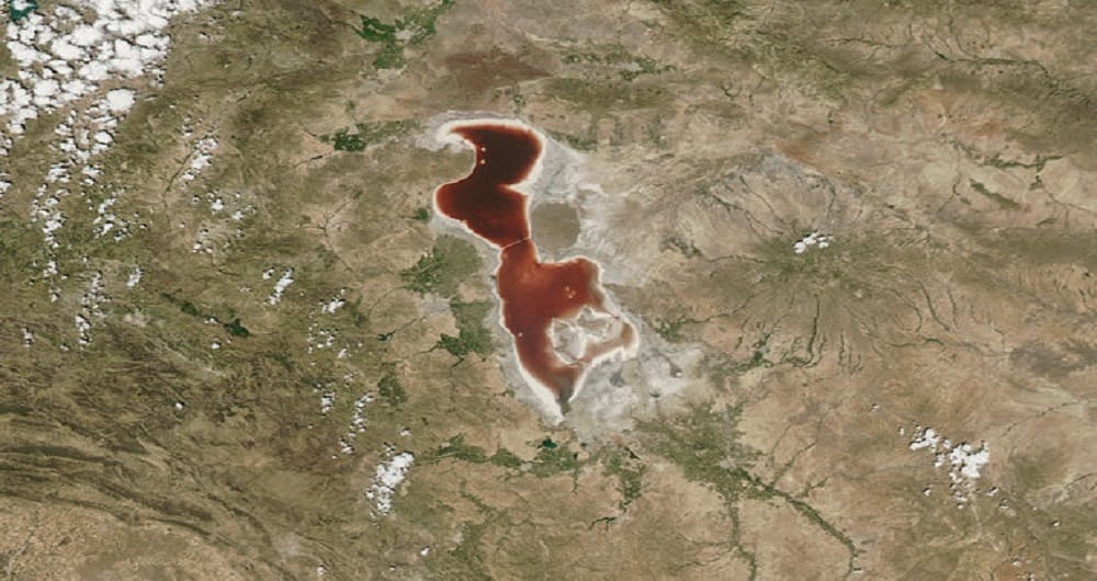 کشف عجیب ناسا در مورد دریاچه ارومیه