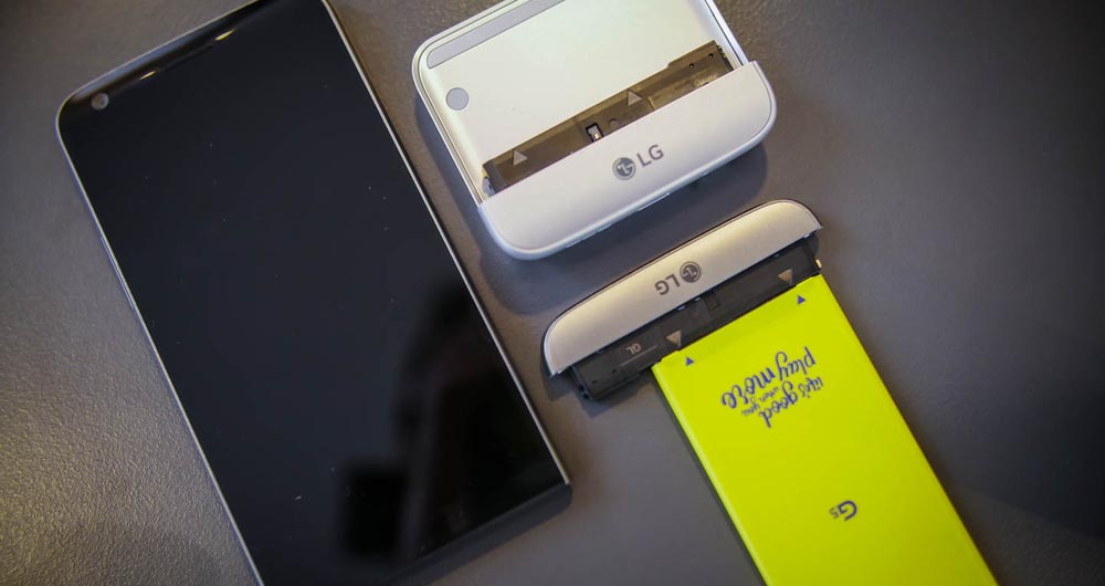 نارضایتی کاربران از گوشی LG G5 و ماژول های آن