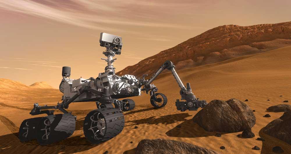 استفاده از طیفسنجی برای جمعآوری نمونه در مریخ