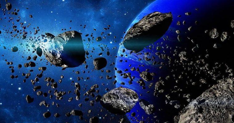 عبور یک شهاب سنگ ناشناخته از نزدیکی زمین
