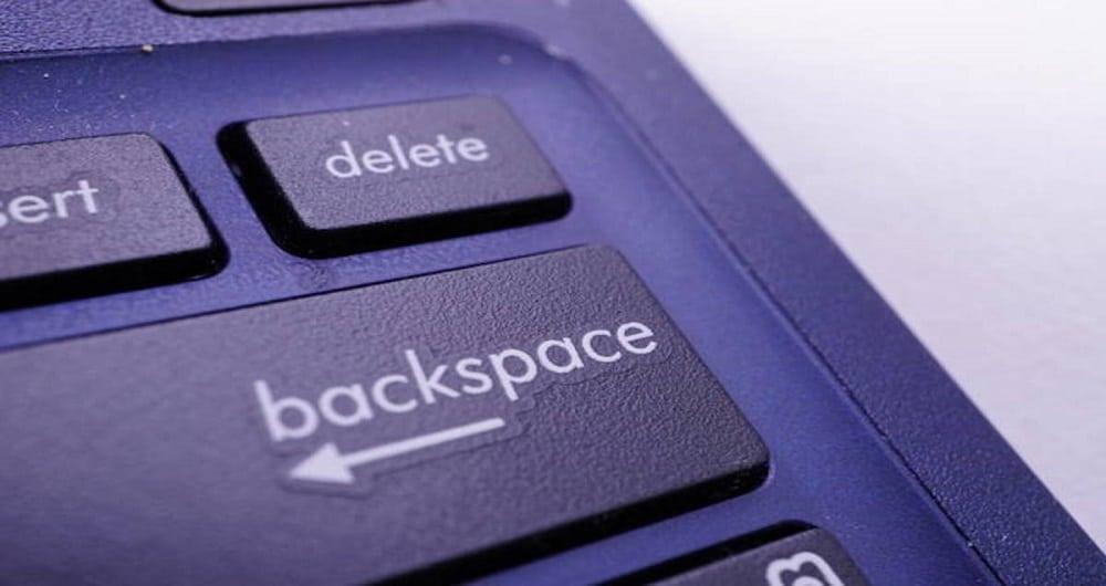 دیگر نگران دکمه Backspace نباشید