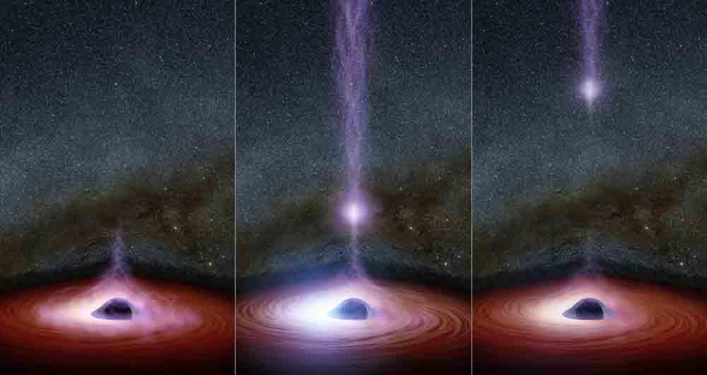 ناسا سیاهچالههای آوازه خوان را کشف کرد