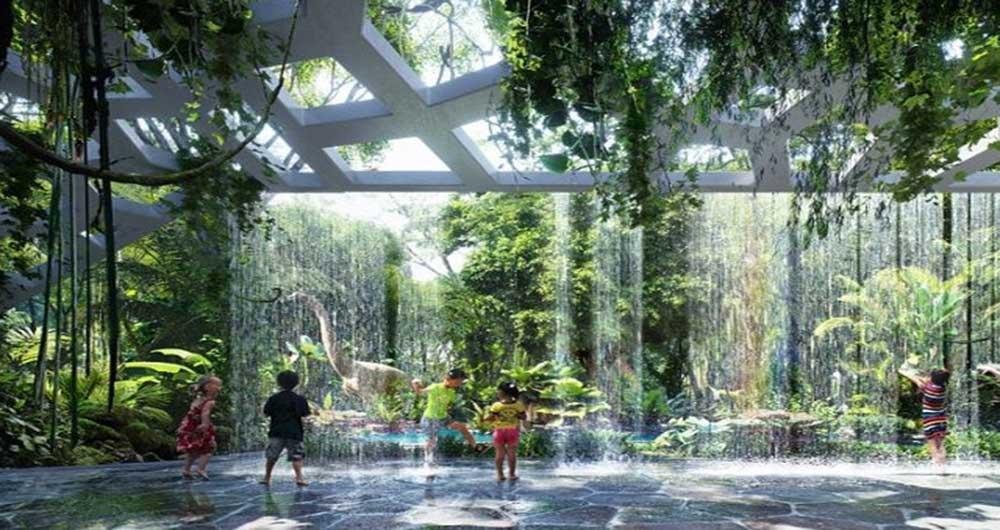 جنگلهای بارانی در هتلی در دوبی به لطف فناوری جدید