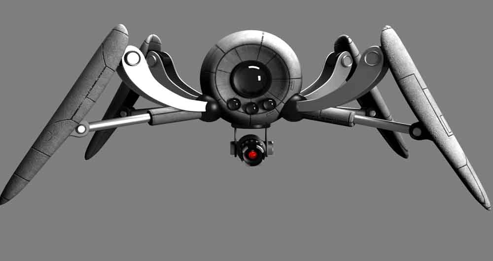 تماشا کنید؛ تنیدن تار با فیبرکربن توسط ربات عنکبوتی
