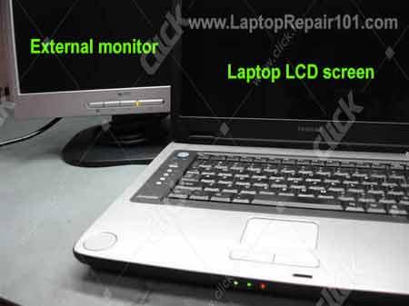 screen shows strange colors laptop repair 101 - 450×337