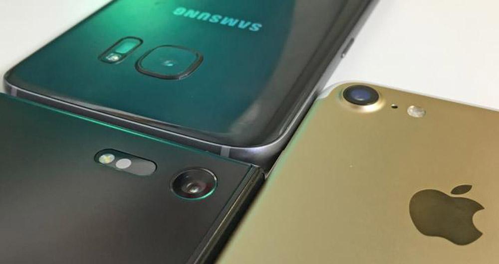 مقایسه دوربینهای گوشیهای هوشمند Xperia XZ،iPhone 7 و Galaxy S7