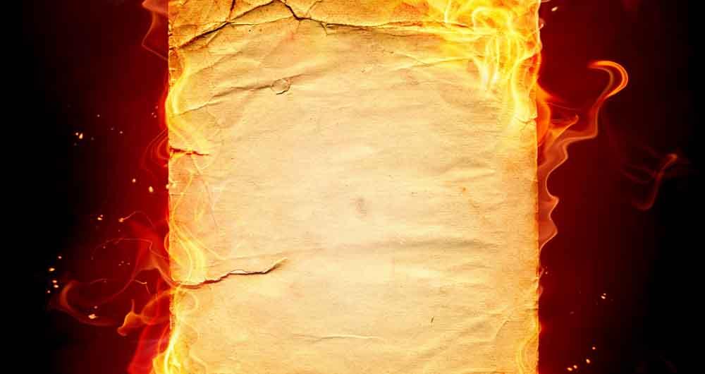 کاغذ ضد حریق