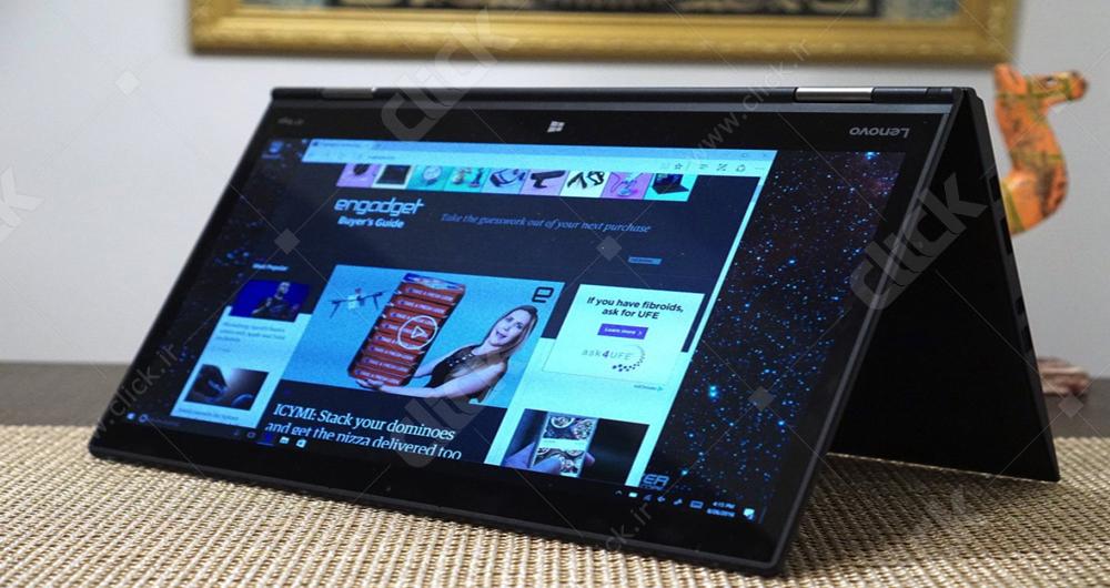 لپ تاپ لنووX1 Yong طراحی ظریف و صفحه نمایشOLED