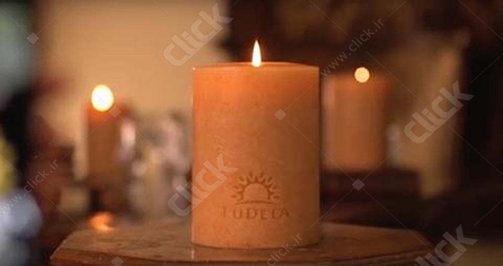 شمع هوشمند لودلا