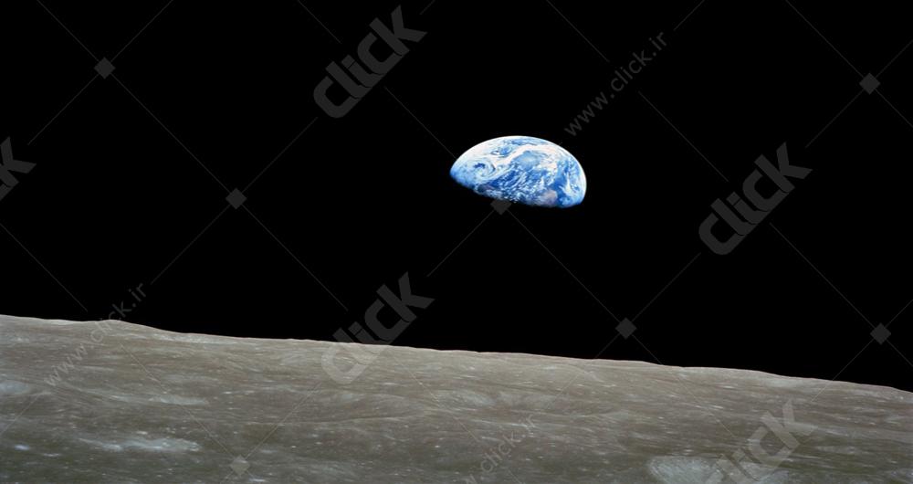 تصاویر کره زمین از ماه