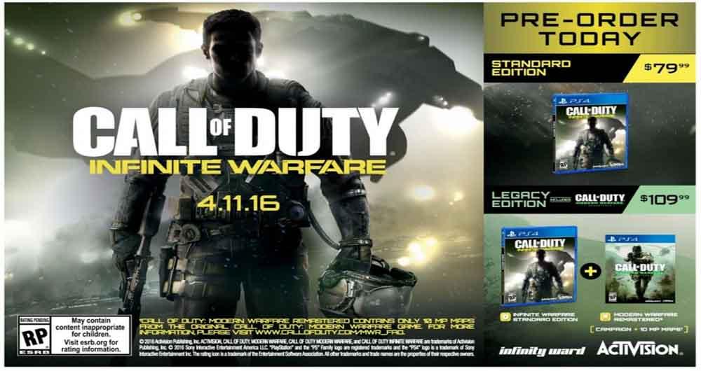 حضور قهرمان جهان در Call of Duty