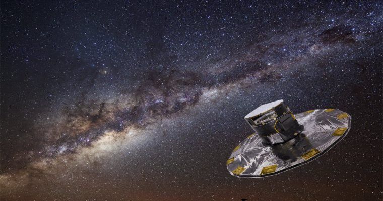 Gaia mapping the stars of the Milky