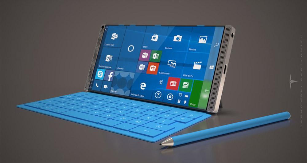 گوشی هوشمند Surface مایکروسافت با صفحه نمایش ۶ اینچی و طراحی زیبا